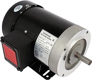 Cuilvu 3/2HP 空气压缩机电动机,三相通用电机,5/8 轴直径 2 极,60HZ,3450RPM,230/460V
