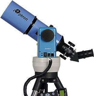 iOptron SmartStar-A-R80 8602B GPS 电脑化望远镜,带双AltAz/EQ 支架(Astro 蓝)