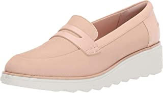 Clarks Sharon Ranch Penny 女士皮革乐福鞋