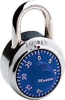 Master Lock 【正规进口商品】 拨号式挂锁 蓝色 1506JAD