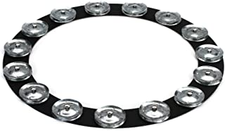 Latin Percussion 35.56 cm Tambo-Ring - 带钢叮当的黑沙