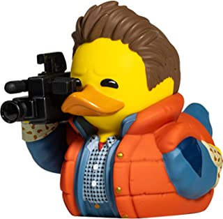TUBBZ Back to The Future Marty McFly 收藏橡胶鸭雕像 - 官方回到未来商品 - 独特的限量版收藏者乙烯基礼物