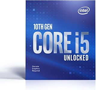 Intel 英特尔 Core i5-10600KF(基本频率:4.10GHz;LGA1200;125 瓦) 盒装