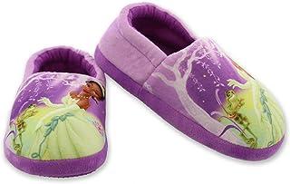 Disney Princess and The Frog Tiana 女童幼儿毛绒玩具 Aline 拖鞋