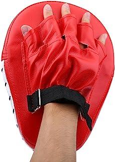 TOPINCN 手靶垫,拳击手套跆拳道泰拳垫 PU 皮革聚焦垫 训练焦点拳击手套袋 适合儿童、男士和女士使用