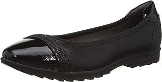 Jana 女士 8-8-22169-25 芭蕾舞鞋 黑色 37 EU Weit