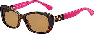 Kate Spade 凯特·丝蓓 Claretta/S 女式矩形太阳镜 + 免费赠送眼镜套装