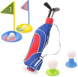 EXERCISE N PLAY 玩具高尔夫套装,高尔夫球杆套装,高尔夫球游戏,教育户外运动乐趣,适合幼儿、儿童、男孩和女孩