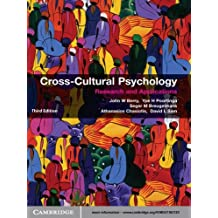 Cross-Cultural Psychology: Research and Applications (English Edition)