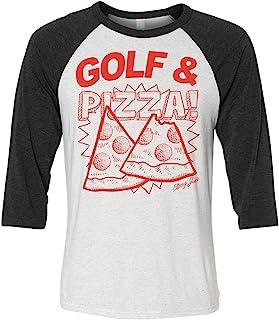 Swing Juice Golf & Pizza 七分插肩袖 T 恤