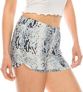 时尚印花海豚下摆短裤 | 女式*,工装短裤
