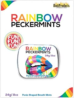 Rainbow Peckermints - 每包 6 个