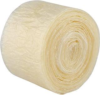 可食用干燥香肠套 - 2 层可食用干燥香肠套,适用于有味的自制香肠火腿 8 米