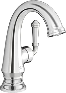 American Standard Delancey Handle 浴室水龙头,带排水 亮镀色(Polished Chrome)