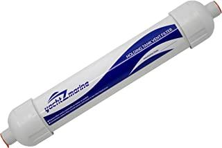 "yachtZmarine 手持式水箱通风过滤器 - 直接通用替换:Dometic、Sealand、ECO、SaniGuard 手持式水箱通风过滤器 309311002 309310002(5/8"" 通风软管,带 3/4"" GHT 连接器)。"