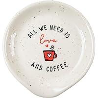 VILIGHT 咖啡勺托 - 咖啡站装饰咖啡吧配件 - 送给女士男士的礼物 - 我们需要的就是爱和咖啡