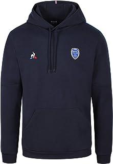 Le Coq Sportif 男士 ESTAC Presentation 卫衣 M 连帽衫,天空队长,XL