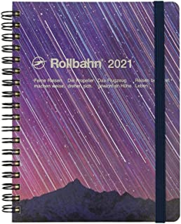 2021 Rollbahn Planner Diary Planet L 号(紫色)
