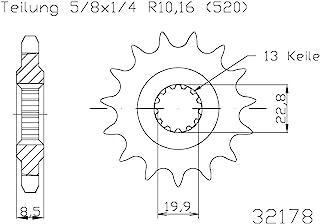 Büse 633217814 小齿轮,大:14 Z