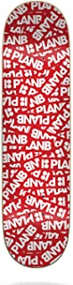 Plan B 中性_成人贴片 21.32 厘米 x 81.64 厘米甲板滑板,多色(多色),21.32 厘米 x 81.64 厘米