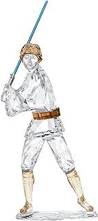 Swarovski 施华洛世奇星球大战人物,水晶,白色/棕色/蓝色,14.2 x 6 x 4.6 厘米