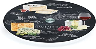 无品牌 441WOCH 带玻璃转盘奶酪板板