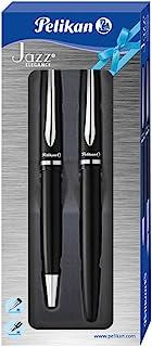 Pelikan 百利金 爵士优雅系列 笔具套装 811095,1x 圆珠笔/钢笔,黑色