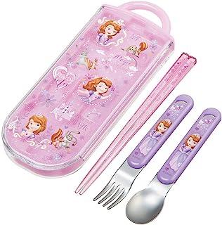 Skater 斯凯达 便当筷 儿童用 餐具三件套 筷子 汤匙 叉子 索菲亚 20 迪士尼 16.5厘米 TACC2-A