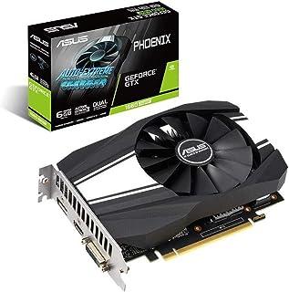 Asus 华硕 GeForce GTX 1660 超频 6GB Phoenix 风扇版 HDMI DP DVI 显卡 (PH-GTX1660S-O6G)