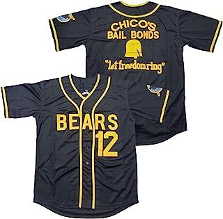 Ruhao Bad News Bears #12 Tanner Boyle 3 Kelly Leak 电影 1976 Chico's Bail Bonds 棒球球衣