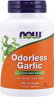 NOW 诺奥Odorless Garlic无味大蒜素,250粒软胶囊