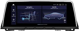 PEMP 垂直屏幕 Android 10 汽车立体声 10.2 英寸 1920x720 IPS 触摸屏 Qualcomm 8 核 4GB + 64GB 汽车安卓 汽车播放 适用于 BMW F01 F02(2013-2015) NBT (F01 ...