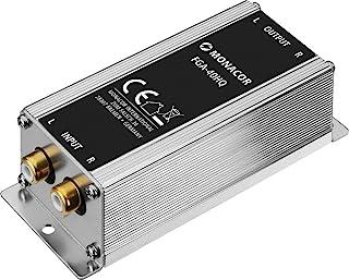 MONACOR FGA-40HQ 高端质量分离过滤器,外罩电源过滤器,带立体声线接口