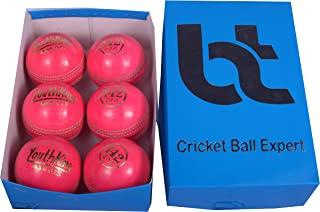 粉色 142 克板球女士/儿童 4 件球 6 支装球真皮,卓越品质