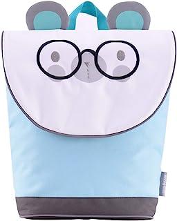 男童和女童幼儿背包,适合日托、学前和幼儿园,配有*绳 蓝色 #1