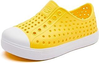 ODOUK 儿童涉水鞋轻质凉鞋户外室内一脚蹬运动鞋适合女孩和男孩