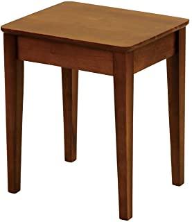 [Yamazen 山善] 侧边桌 深橄榄色 BST-4035(DOL)