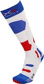X-Socks 男士 Chaussettes Ski Patriot 4.0 France 滑雪袜