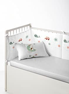 HACIENDO EL INDIO Made the Indian Dreamland 保护垫,保险杠,床头板(床 60 厘米),60 x 80 厘米