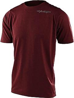 Troy Lee Designs 天际线短袖运动衫 - 男孩混色砖色,S 码