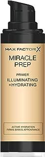 Max Factor 蜜丝佛陀 Miracle Prep光彩保湿粉底液,含烟酰胺和维生素E,30毫升
