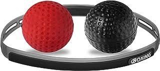 U/D 拳击反射球,2 个难度级别拳击训练球,带可调节头带,非常适合反应、敏捷、击球速度、战斗技能和手眼协调训练