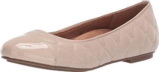 Vionic 女式 Spark Desiree 芭蕾平底鞋 - 女士平底鞋带隐藏式*足弓支撑
