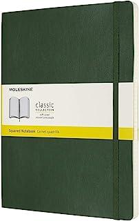 Moleskine 纸板及笔记本 格子 Xlarge Myrtengrün