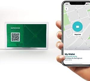 Safedome Recharge 蓝牙追踪器 - 限量版透明卡