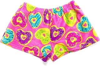 Confetti and Friends 女孩女士和男孩毛绒毛绒超柔软舒适睡衣短裤尺码 5/6 至青少年 S 码