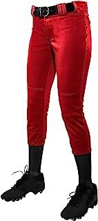 CHAMPRO 女童低腰锦标赛快投垒球裤