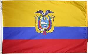 Annin Flagmakers 尼龙太阳能防护帽纽约洛杉矶国旗 3x5' 192330