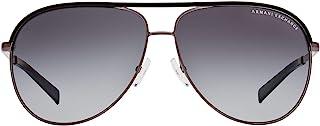 A X Armani Exchange AX2002 Aviator Metal Sunglasses