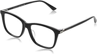 GUCCI 古驰 眼镜 伊达眼镜 0018OA 001 亚洲人适用 男士 0018OA-001 日本 54,17,145 (FREE サイズ) [平行进口商品]